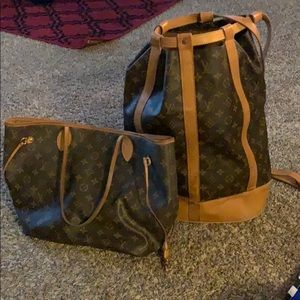 Louis Vuitton duo